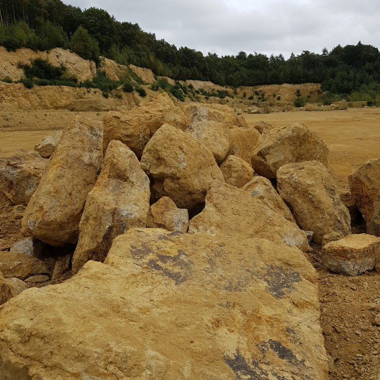 Fittleworth Sandstone Boulders